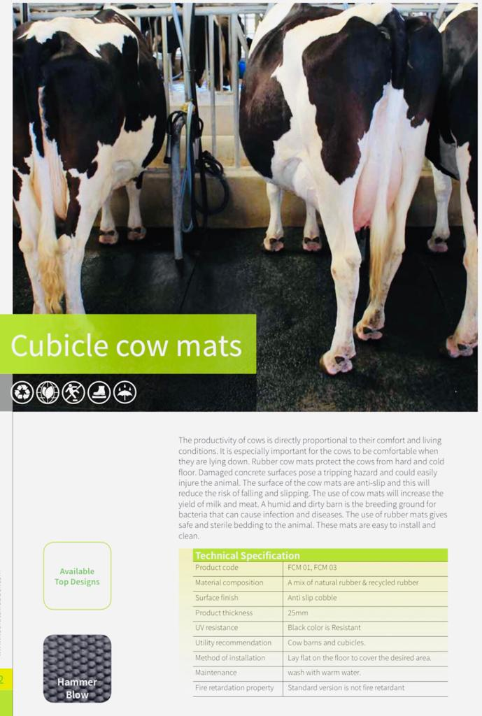Cubicle Cow Mats
