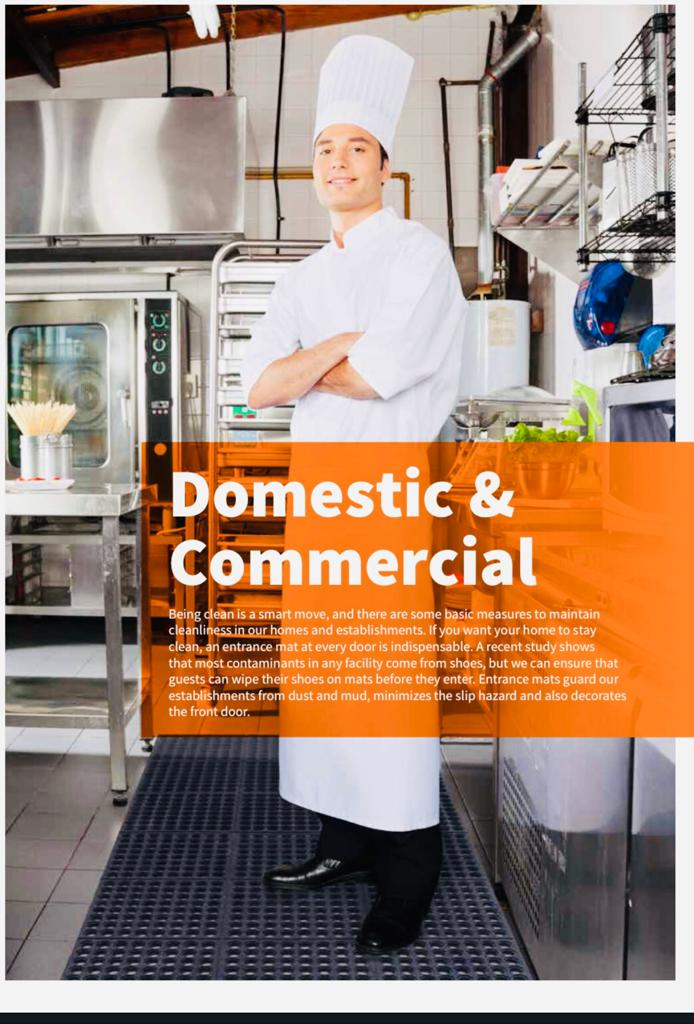Domestic & Commercial Mats