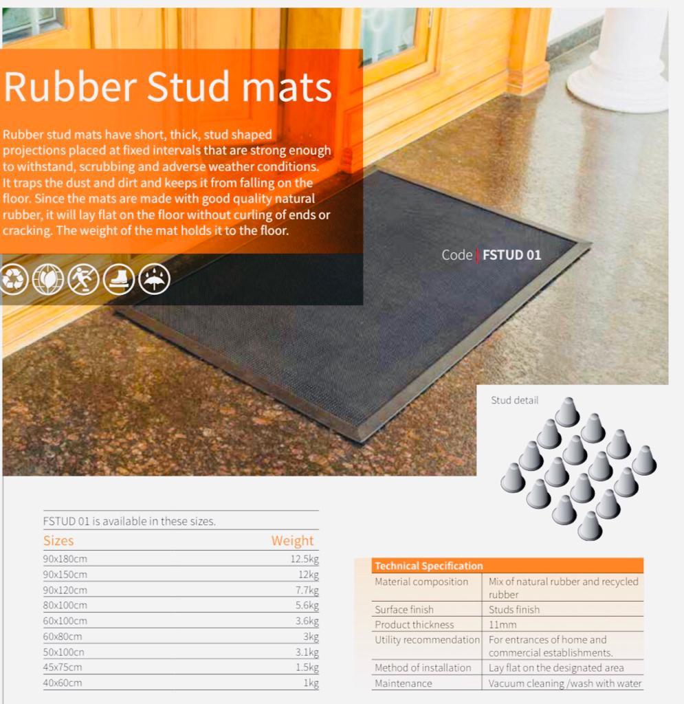 Rubber Stud Mats
