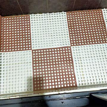 Rubber hollow mats Dubai