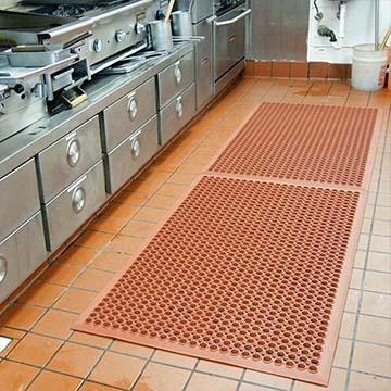 interlocking restaurant mats