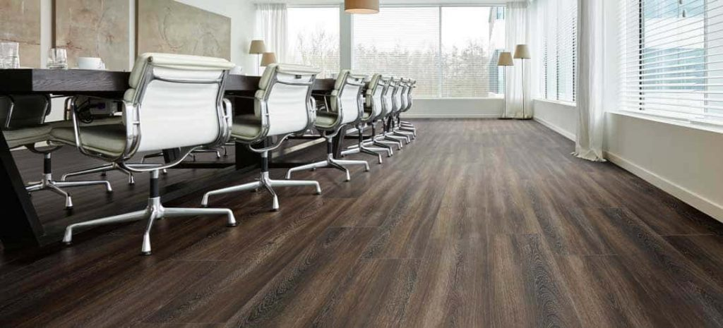 Flooring for offices