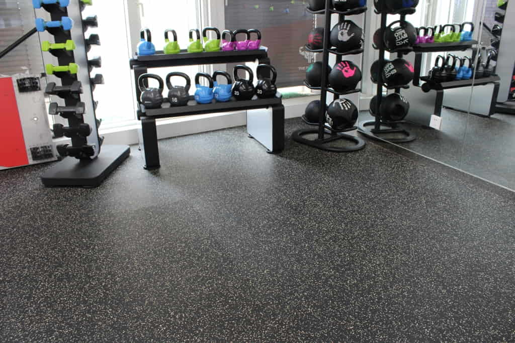 Rubber flooring Dubai