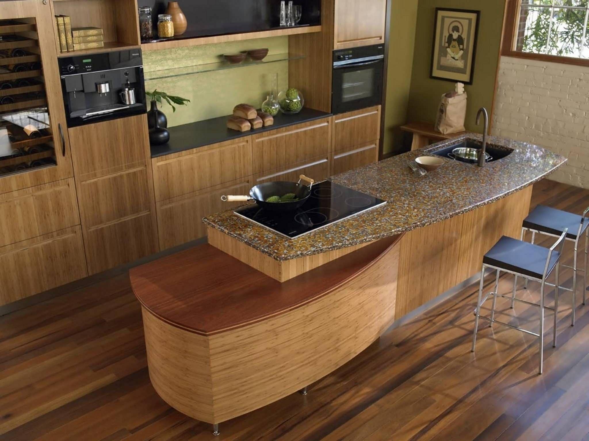 Bamboo kitchen Flooring