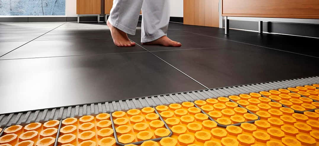 Electric-Heated Floor System