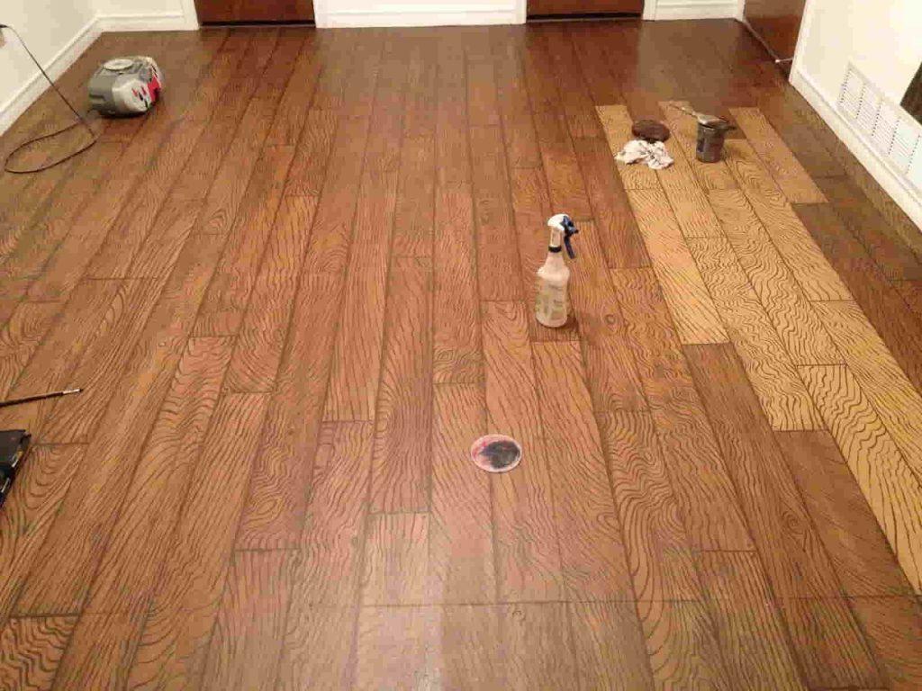 Faux wooden Flooring