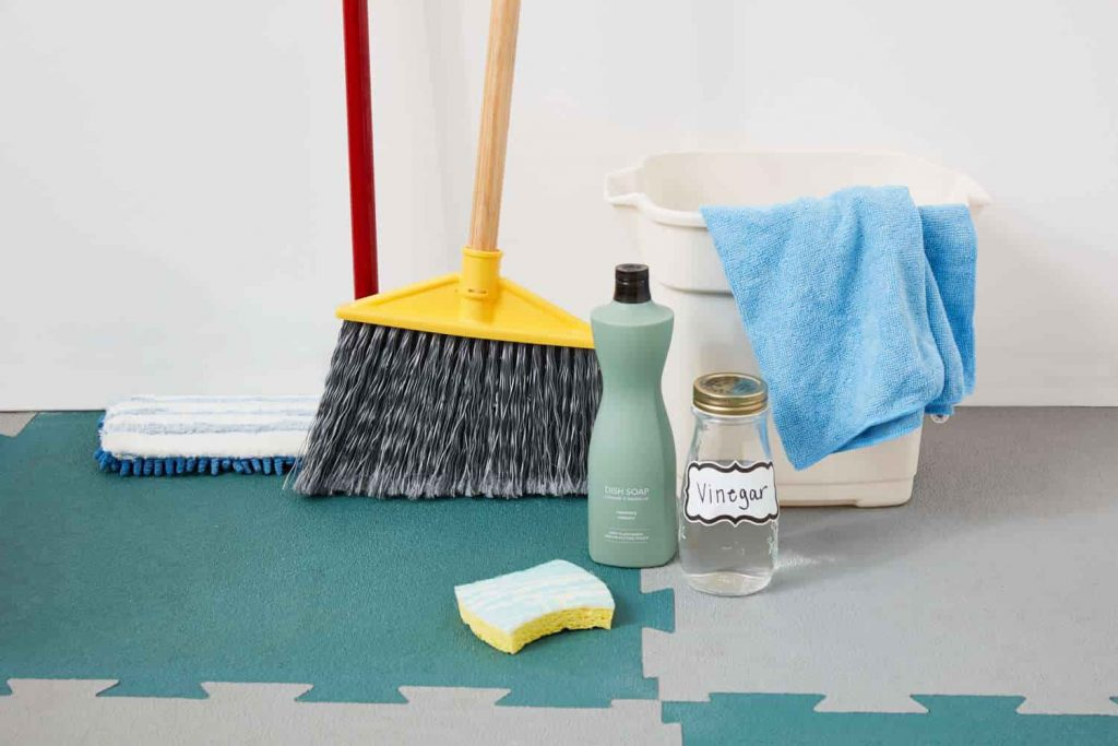 How To Clean Flooring Tiles
