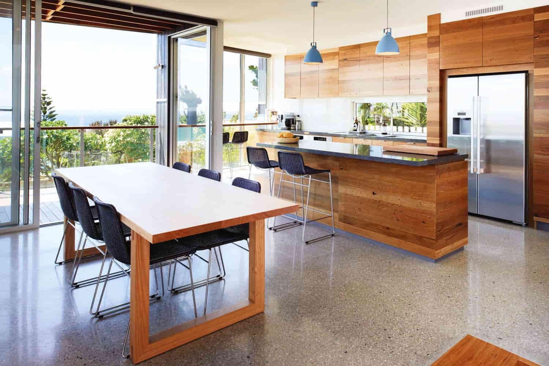 concrete Flooring for kitchen