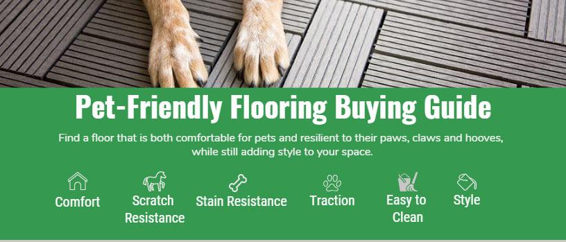 pet's flooring buying guide